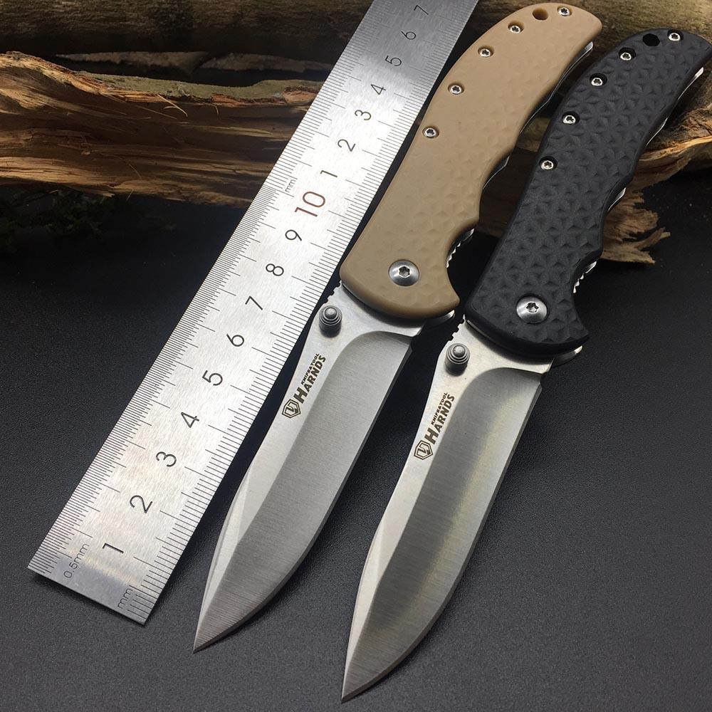 Harnds CK6013 рыцарь складной нож 8Cr14MoV лезвие нейлон стекловолокно ручка выживания Утилита Bushcraft спасательный EDC Портативные Инструменты Ножи      АлиЭкспресс