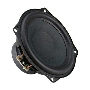 Image 3 - Updates 4ohm 5.25 inch Mid Bass Speaker Unit Subwoofer 30W Deep Bass Mediant Woofer Loudspeaker Rubber Edge 1pc