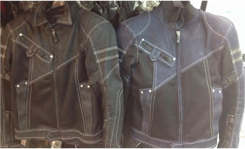 JK-006 Vintage Denim Mesh Jacket a3