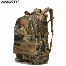 40L 3D Outdoor Sport Military Tactical wearable and durable Hunting climbing  Backpack Fishing waterproof Rucksack Travel Bag