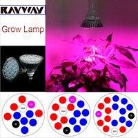 Full Spectrum Red 660nm Blue 460nm IR 750nm UV 395nm White 10000k E27 LED Plant Grow