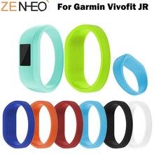 все цены на L/S Size Replacement Band For Garmin Vivofit Jr Watch Strap Soft Wrist Bracelet Band Strap For Garmin VivoFit JR/JR2 Watchband онлайн