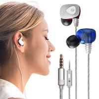 Mifo R1 Douszne Słuchawki Przewodowe Słuchawki HIFI Słuchawki DJ Monitora Running Wkładki Douszne Sportowe słuchawki z mikrofonem 3.5mm AUX
