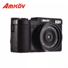Amkov AMK-CDR2 24Megapixel 1080P HD Mini Digital Camera 3.0″ TFT Display Shooting 4 Times Digital Zoom Beauty Self-timer Camera