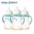 3 pçs/lote haier brillante 260 ml pes garrafa treinador do bebê as crianças aprendem a beber garrafa alça palha copo de água de alimentação mamadeira