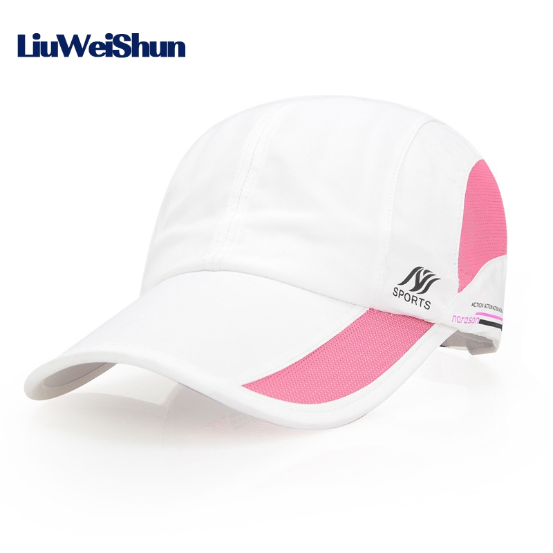 LIUWEISHUN Brand Summer Quick Dry Baseball Cap Hats For Men Women,Snapback Sun Hat Sports Caps Bone Golf Casual Casquette Gorras