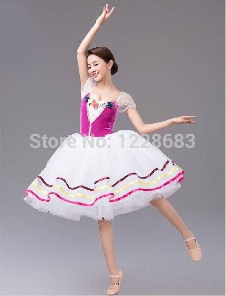 5e8b89d14 Free Shipping Dance Wear Balet Fairy Ballet Dress Professional ...