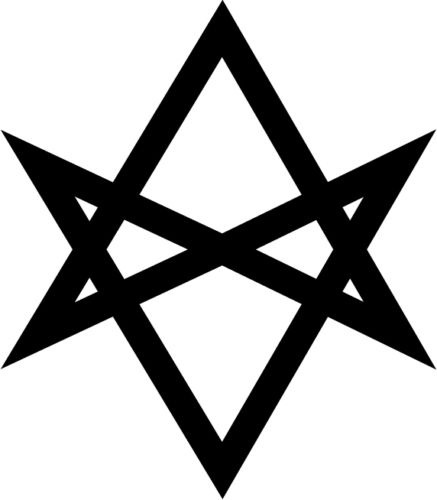 Thelema Sigil Vinyl Decal Window Sticker Religion Occult Aleister Crowley 15cm