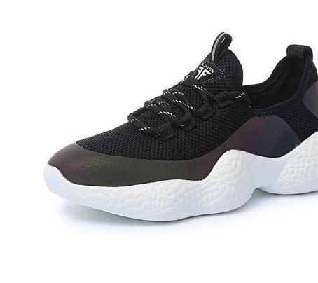 Aider Coréenne Chaussures Nouvelle Sauvages De Haute Feu Pour white Automne Black Femmes 2018 Sport Super Version qTnPF1Wwf