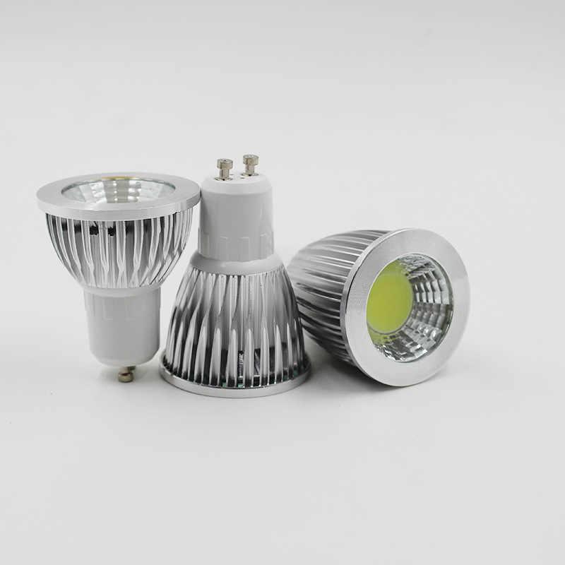 Супер яркий GU10 УДАРА светодиодный лампа 9 W 12 W 15 W светодиодный лампа с регулируемой яркостью ГУ 10 Светодиодный прожектор теплый/холодный белый GU10 УДАРА СВЕТОДИОДНЫЙ свет Lampada