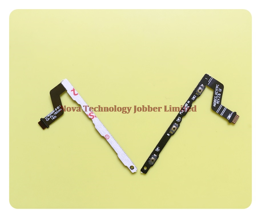 Wyieno Zenfone6 Switch on/off Volume Ribbon For <font><b>ASUS</b></font> Zenfone 6 A600CG <font><b>T00G</b></font> Power Button Flex Cable Replacement Parts + Tracking image