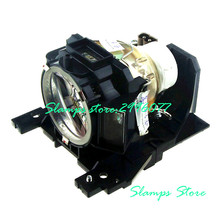 DT00891 for Hitachi CP-A100 CP-A100J CP-A101 ED-A100 ED-A100J ED-A110/A110J Compatible Replacement Projector lamp with housing купить недорого в Москве