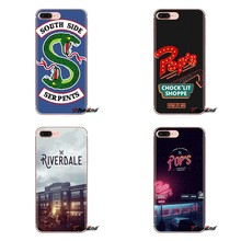 For iPod Touch Apple iPhone 4 4S 5 5S SE 5C 6 6S 7 8 X XR XS Plus MAX American TV Riverdale Painted TPU Transparent Shell Covers(China)