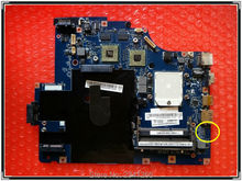 LA-5754P for Lenovo G565 Z565 laptop Motherboard NAWE6 LA-5754P Main board ATI HD5340 DDR3 Full tested
