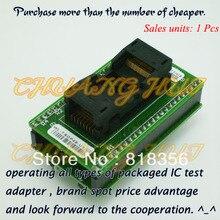 WL-TSOP48-U1/U2 Adapter for Wellon Programmer Adapter TSOP48 Adapter IC Test Socket/IC Socket mx29lv640ebti 70g tsop48