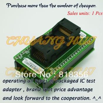 WL-TSOP48-U1/U2 Adapter for Wellon Programmer Adapter TSOP48 Adapter IC Test Socket/IC Socket program test new tsop48 on line test socket smd welding tsop48 tsop48 ic socket adapter pitch 0 5mm