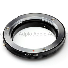 лучшая цена lens adapter works for Contax Yashica C/Y to Olympus OM 4/3  E620 E600 E520 E450 E3
