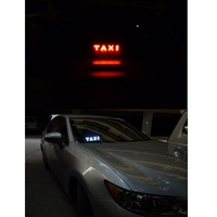 led white Daytime running lights for the car TAXI led light Cab indicator Car light Custom design Fog light Red/Blue/White/Yellow/Green (4)