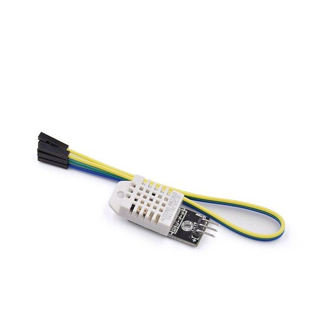 5 יח\חבילה DHT22 דיגיטלי טמפרטורה ולחות חיישן AM2302 מודול + PCB עם כבל עבור arduino