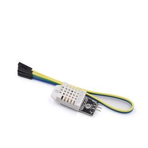 Image 1 - 5 PÇS/LOTE DHT22 Digital de Temperatura e Sensor de Umidade AM2302 Módulo + PCB com Cabo para arduino