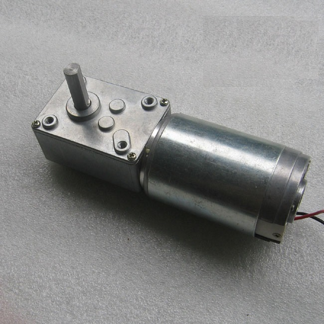 new GW4468 24V 17 rev / min high torque DC motor worm gear motor motor