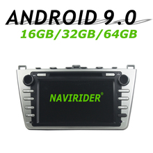 Navirider gps навигация для MAZDA 6 2008-2012 8 «стереонаушники DVD автомобиль android 9,0 8 core 64 Гб rom радио-проигрыватель вluetooth