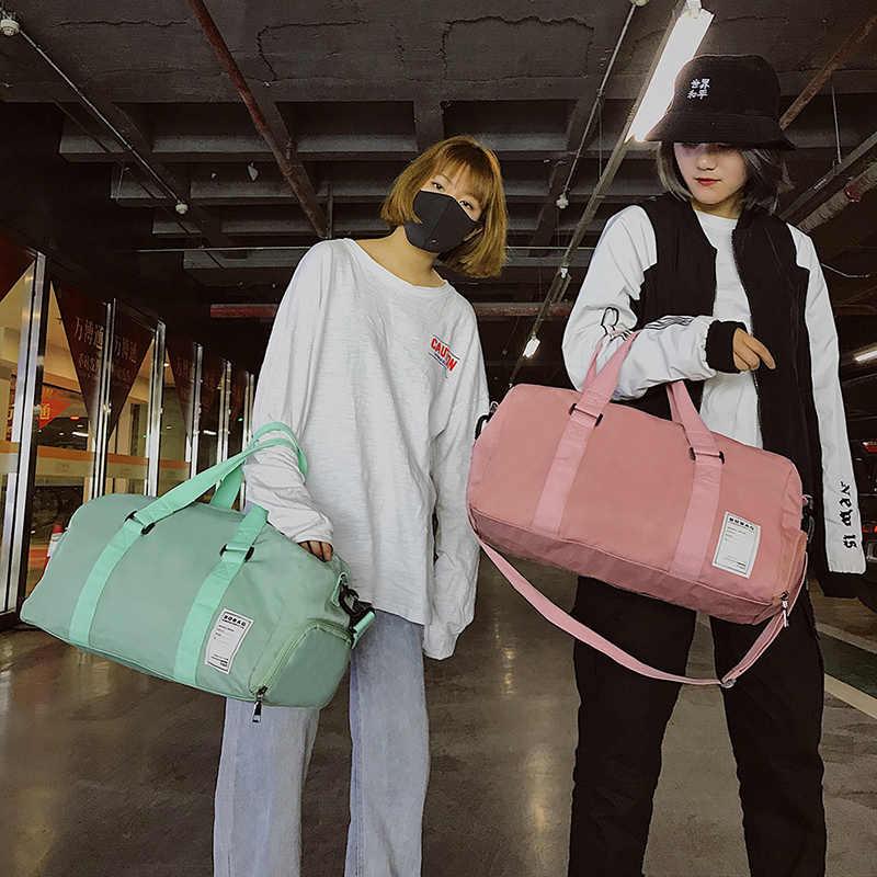 2019 nuevo bolso deportivo de gimnasio para mujer, entrenamiento de Fitness, bolsas de hombro para viaje, bolsos de hombro, bolsa de deporte al aire libre para mujer