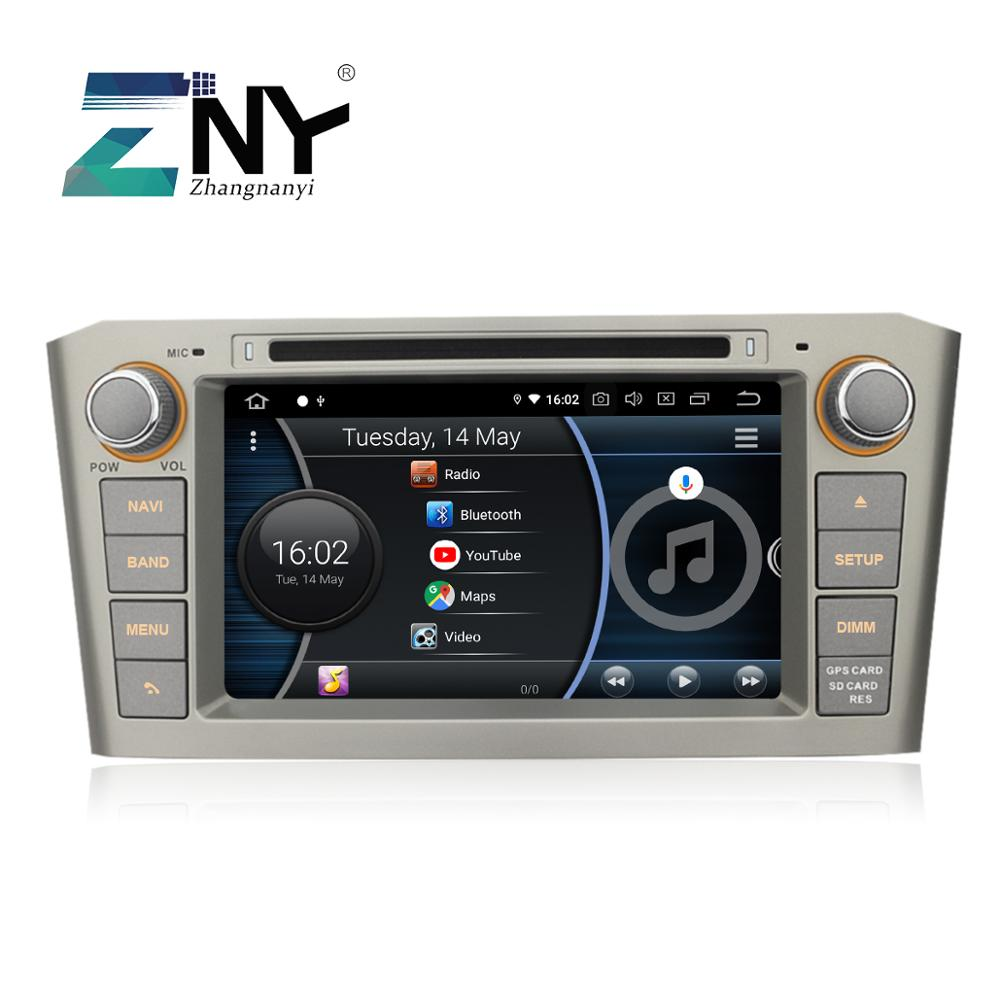 """Image 2 - 7"""" IPS Android 9.0 Auto GPS Radio For Avensis T25 2003 2008 Car DVD Audio Video FM WiFi Free DVR Carplay Rear Camera Maps Tools-in Car Multimedia Player from Automobiles & Motorcycles"""