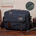 Белка мода холст молния деловых людей , кроссбоди satchels портфель моде корейский стиль битник молодежи сумки