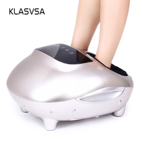 KLASVSA Air Compression Foot Massage Shiatsu Heating Therapy Infrared Massager Foot Electric Muscle Stimulator Pain Relief