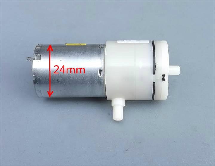 50PCS LOT DC 3 7V 5V 6V 370 Micro Air Pump Electric Pumps Mini Vacuum Pump