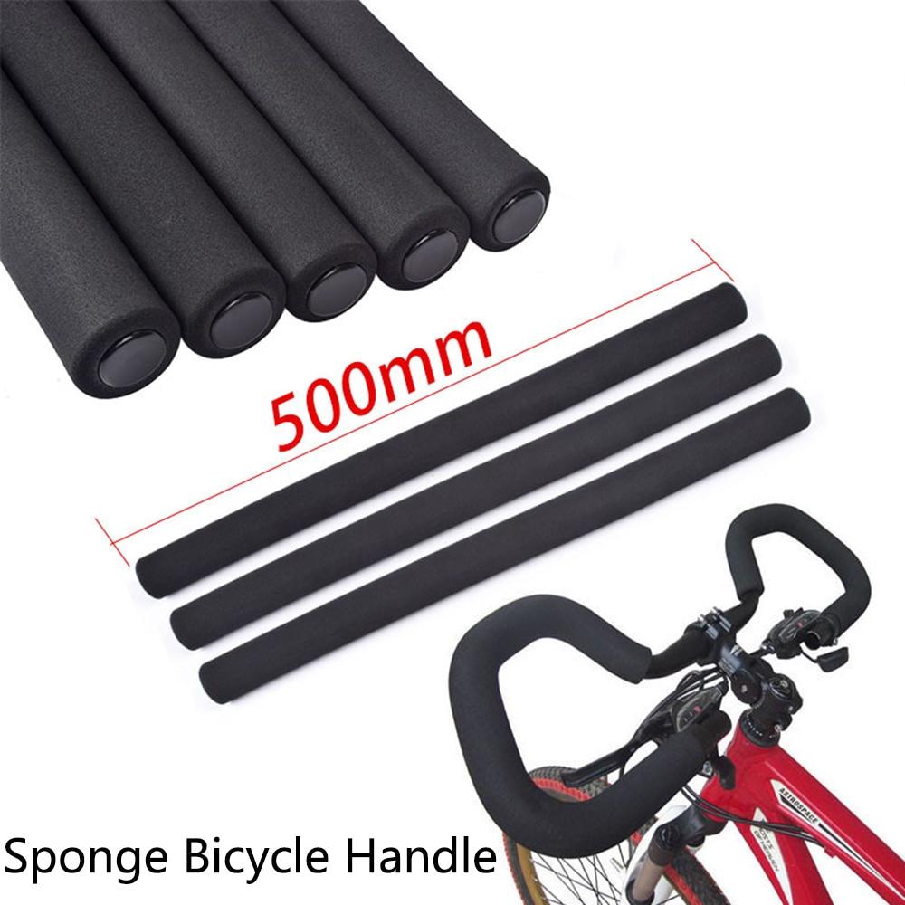 1 Pair Bicycle Bike MTB Handlebar Tube Sponge Foam Rubber Handle Bar Grips Set