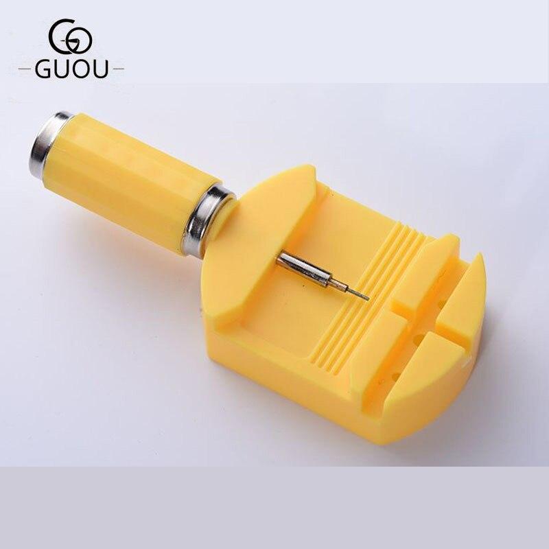 GUOU бренд часы инструменты аксессуары часы ремешок ремонт отсоединения устройства Наборы Разборки открывающий инструмент для часов отрегу...