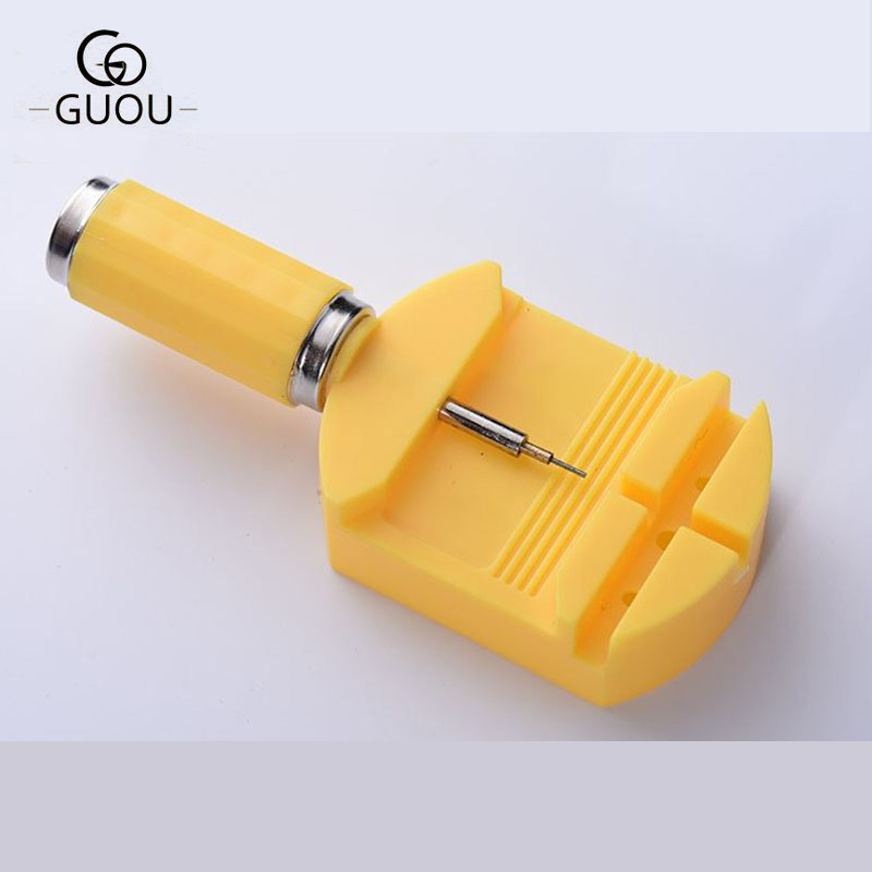 GUOU Brand Watch Tools Watch Accessories Watches Strap Repair Detaching Device Kits Disassembly Watch Opener Adjust Repair Tool