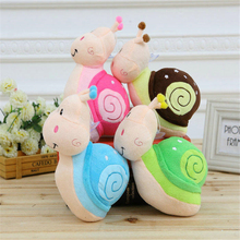 Cute Snail Plush Toys Small Pendant Kids Toy Baby Gift Home Decoration Cushion