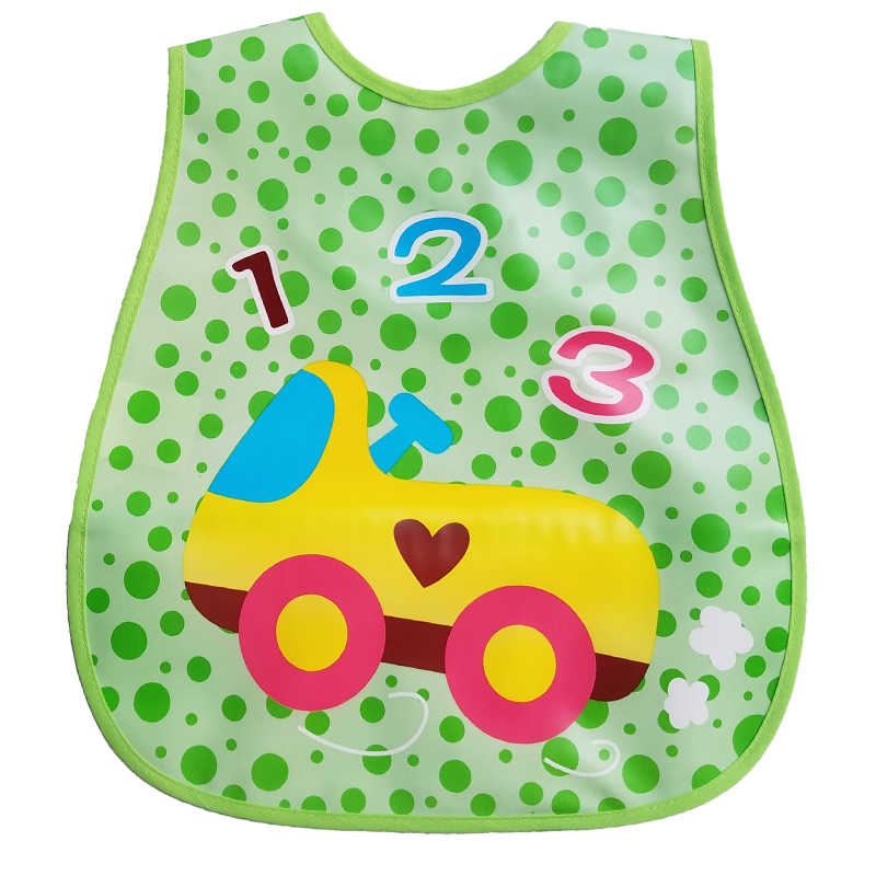 1PCS Appena Nato Del Bambino Bavaglini Bavaglino Impermeabile baberos bebe Bavaglini Ragazzi Delle Ragazze Del Fumetto Bavaglini Panni Del Burp Per I Bambini Auto Alimentazione cura