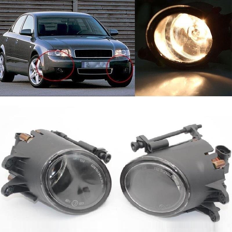 Car Light For Audi A4 B6 2001 2002 2003 2004 2005 Car-Styling Halogen Front Fog Light Fog Lamp With Bulbs