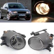 Свет автомобиля для Audi A4 B6 2001 2002 2003 2004 2005 автомобиль-Стайлинг галогенные передние противотуманные лампа с лампочки