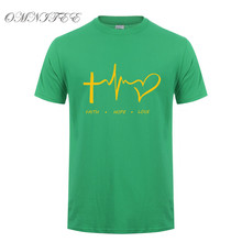 Christian T Shirt  Faith Hope Love