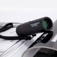 Hot Selling 10X25 HD Monocular Telescope Binoculars Zooming Focus Green Film Binoculo Optical Hunting High Quality