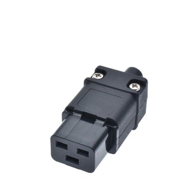 UPS PDU 16A 250VAC IEC 320 C19 ปลั๊ก,IEC C19 ปลั๊ก DIY,IEC 320 C19 Rewireable ขั้วต่อ IEC C19 หญิง 16A CONNECTOR