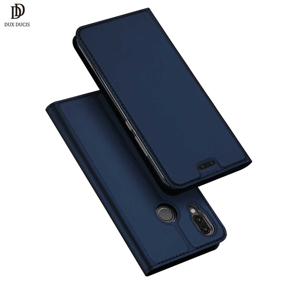 Huawei P20 Lite Case DUX DUCIS Luxury Flip Leather Wallet Cover on for Huawei P20 P 20 Lite Coque P20lite Phone Case Etui