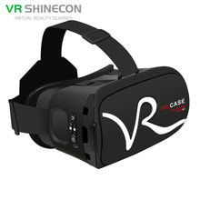 New Arrival Frame Lightweight Portable 3D VR Box Mobile Phone Virtual Reality Glasses Low Price Promotion(China)