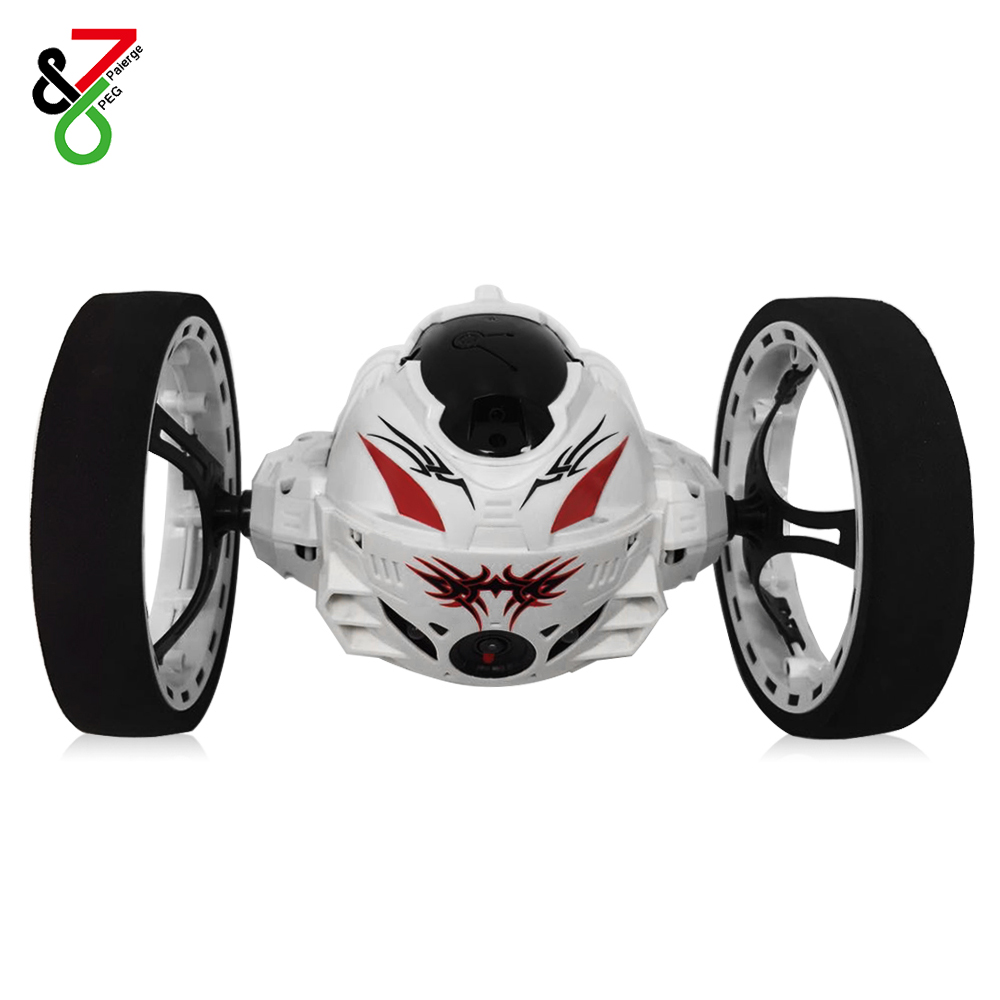 2018 New Remote Control RC Cars Jumping LED Light Music Bounce Car with 80W Camera Shockproof Robot Car Toys Gifts for Kids цена 2017