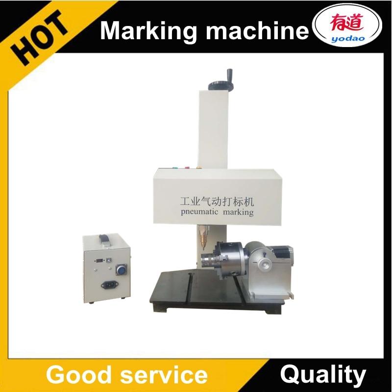Metal Nameplate Pin Marking Machine/Pneumatic dot peen marking machine 180*90mm 110V 220VMetal Nameplate Pin Marking Machine/Pneumatic dot peen marking machine 180*90mm 110V 220V