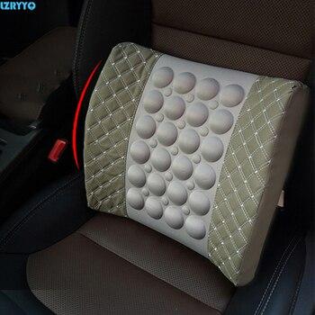 Ich Ruhe Massagegerät   1 Stücke Auto Kissen Lenden Auto Elektrische Rest Taille Massage Kissen Schwamm Lenden Unterstützt Pad Zurück Kissen Kissen 12 V