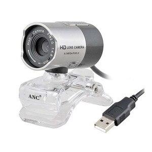 Aoni ANC HD Mini USB веб-камера CMOS сенсор веб-компьютер камера Встроенный цифровой микрофон для настольного ПК ноутбука для видеозвонков