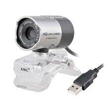 Aoni ANC Веб-Камера Рабочего Стола/Ноутбука PC Компьютер Ночного Видения Веб-Камера USB Драйвер Бесплатно HD Камера С Микрофоном Веб-Webcamera
