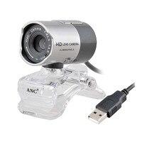 Aoni anc web câmera de desktop/laptop pc computador na webcam visão noturna usb livre driver da câmera hd com microfone web cam webcamera
