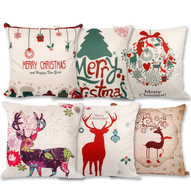 Christmas Pillow Case 2